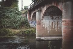 Deutschlands älteste seit 1839 genutzte Eisenbahn-Steinbogenbrücke