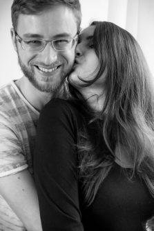 Babybauch von Maren und Stefan